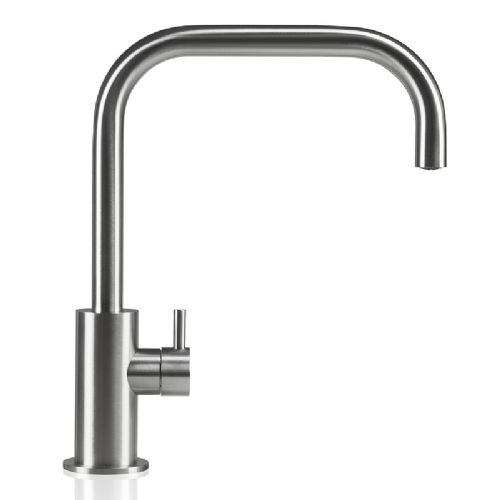MGS Spin SQ Stainless Steel Kitchen Tap